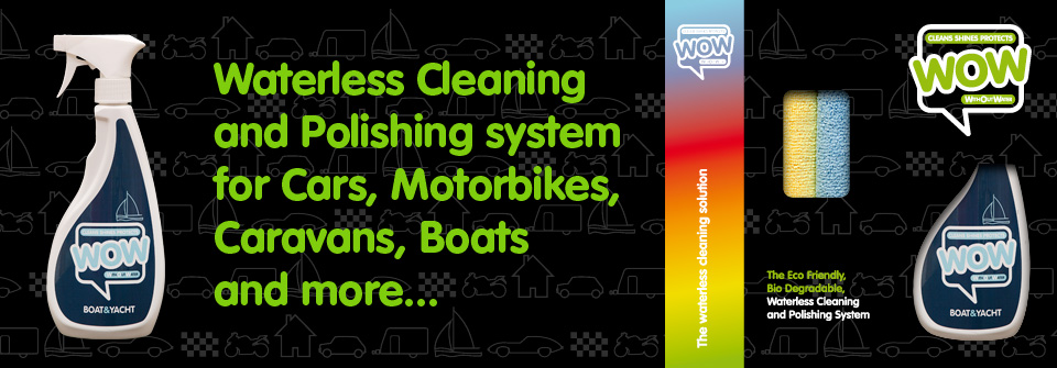 WOW™ Boat and Yacht, Waterless Cleaner