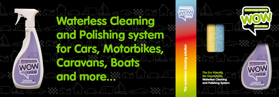 WOW™ Caravan and Motor Home, Waterless Cleaner