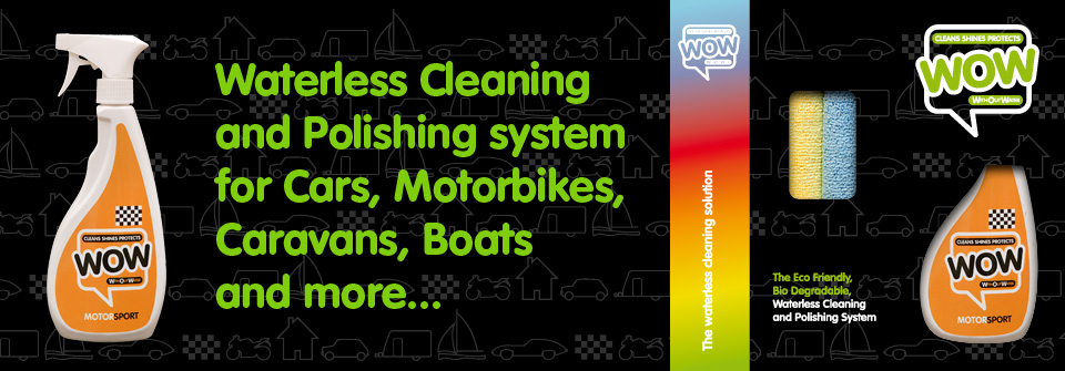 WOW™ Motorsport, Waterless Cleaner