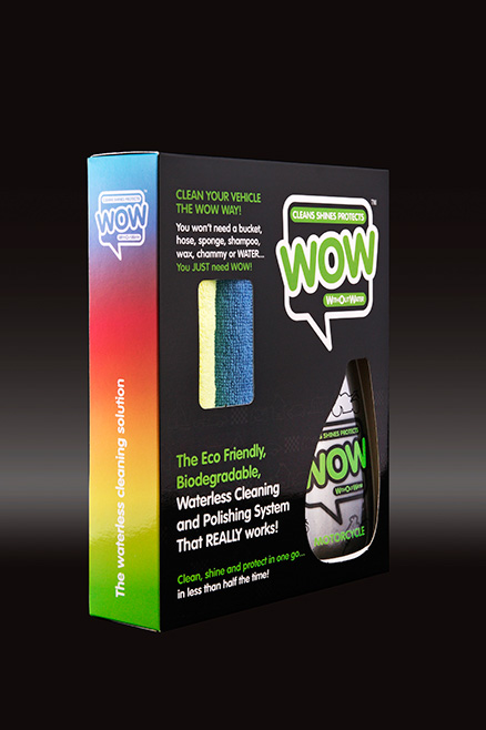 WOW™ 500ml Motorcycle Box Kit
